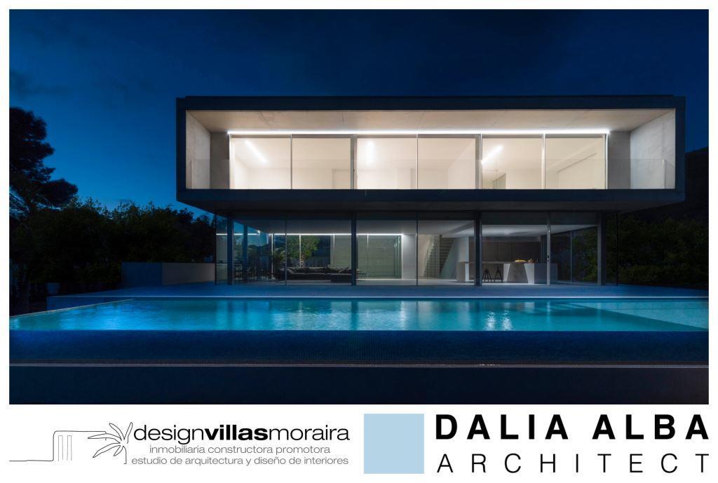 villa moderna Moraira El Portet